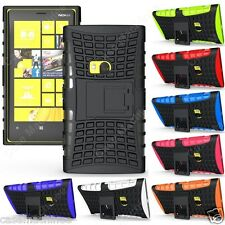 Heartly Flip Kick Stand Spider Hard Dual Armor Back Case Cover - Nokia Lumia 920