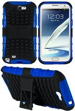 Heartly Flip Kick Stand Spider Hard Armor Case Cover Samsung Galaxy Note 2 N7100