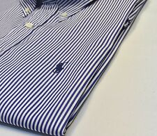Ralph Lauren Navy Blue Stripe Shirt
