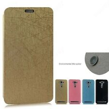 Heartly PU Leather Flip Stand Hard Best Back Case Cover For Asus Zenfone Selfie