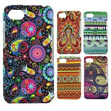 Heartly Aztec Print Tribal Matte Style Thin Hard Back Case Cover - Blackberry Q5