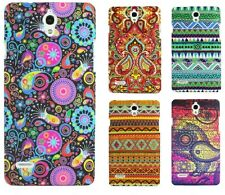 Heartly Aztec Print Tribal Style Thin Hard Back Case Cover - Huawei Ascend G700