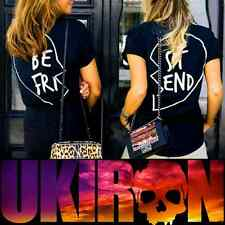 UKIRON (Best Friends) A Special Unique Complete PAIR of T-Shirts Made in the UK