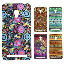 Heartly Aztec Print Tribal Matte Style Thin Hard Back Case Cover Asus Zenfone 6