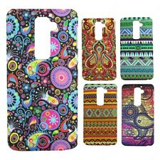 Heartly Aztec Print Tribal Style Thin Hard Back Case Cover - LG Optimus G2 D802