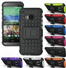 Heartly Flip Kick Stand Spider Hard Armor Back Case Cover - HTC One M9 Plus M9+