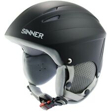 Sinner Empire Casco Da Sci - Nero Opaco