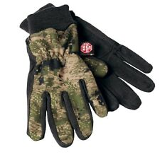 HÄRKILA Guantes Q-paño grueso y suave optifade ground bosque - Gore-Windstopper