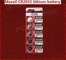 5/10/20 Genuine Maxell CR2032 DL2032 3V Lithium Button / Coin Cells batteries UK