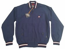 MENS TROJAN RECORDS MONKEY JACKET MOD SKA RETRO TR 8151- NAVY BLUE