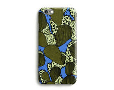 Funky Cactus Hard Glossy Case for iPhone 7, 6, 6s, Plus, SE, 5c 5s, 4s, Blue