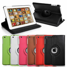 PU Leather 360 Degree Rotating Stand Case Cover for Apple iPad Mini 2