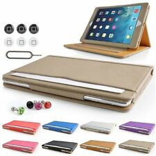 Tan Leather Stand Case Cover For Apple iPad Air / iPad 5