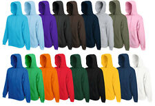 FRUIT OF THE LOOM KAPUZENPULLOVER 'Hooded Sweat' HOODIE PULLOVER S-M-L-Xl-XXL