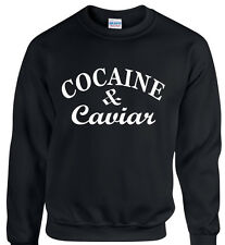COCAINE ET CAVIAR SWAG, HIPSTER PULL SWEAT SWEATSHIRT UNISEXE