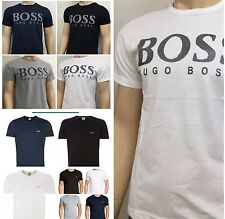 HUGO BOSS CREW NECK T SHIRT FIVE COLOURS AND SIZES