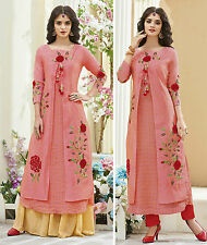 Shanaya Gorgeous 2 Piece Peach Kurti / Kurta / Top