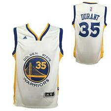 canotta basket NBA Maglia swingman  Kevin Durant 35 Golden State Warriors Bianca