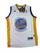 canotta basket NBA Maglia swingman Stephen Curry Golden State Warriors Bianca