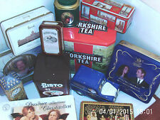 COLLECTABLE TINS 1960/90 - click HERE to browse or order