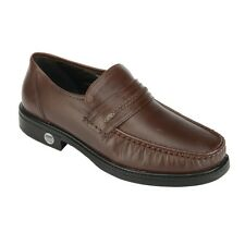 Khadim's British Walkers Brown Leather Mens Semi-Formal Shoes