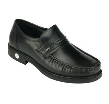 Khadim's British Walkers Black Leather Mens Semi-Formal Shoes
