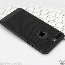 Ultra Thin Hard Plastic Grid Design Back Case Cover For Apple iPhone 7 & 7 Plus