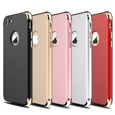 For New Apple iPhone Ultra-thin Shockproof Full Protective Hard Back Cases Cover