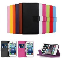 New Luxury Leather Flip Case Wallet Cover For Apple iPhone 6 6S 7 Plus