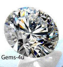 quBULK LAB CREATED HEARTS & ARROW DIAMOND ROUND STONE AAAAA 1MM - 10MM