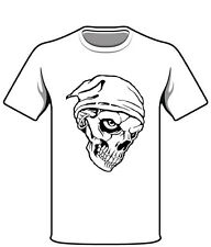 Germania Scull Teschio Uomo Donna Motto maglietta Regalo T-Shirt
