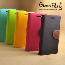 MERCURY DIARY WALLET STYLE FLIP COVER CASE FOR SAMSUNG GALAXY MEGA 5.8 I9150