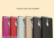 For XIAOMI MI REDMI NOTE 3 LUXURY CHROME BUMPER WITH PU LEATHER BACK CASE COVER