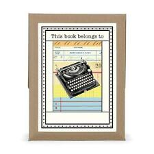 FREE 2 DAY SHIPPING: Cavallini 18-Pack Typewriter Bookplates (Kitchen)