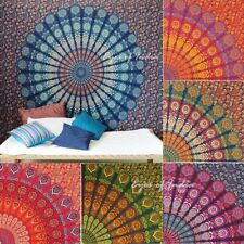 Large Queen Hippie Mandala Bohemian Tapestry Boho Dorm Wall Hanging Indian Bedsp