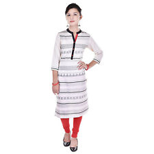 Indian Ethnic Pure Cotton Designer Printed Casual Wear Kurti Kurta VIKU_5016