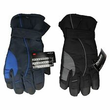 MENS PIERRE ROCHE THERMAL THINSULATE PADDED WINTER GLOVES 70B048 S-XL