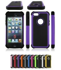 Hard Shockproof Case Cover for Apple iPhone 4s 5s 6 With FREE Screen Protector