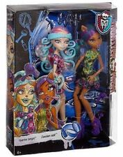 MONSTER HIGH 2 PACK VIPERINE GORGON & CLAWDEEN WOLF BRAND NEW & SEALED