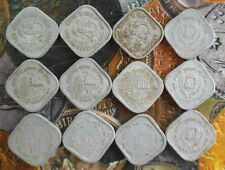 12 ALL DIFFERENT MINT SET - 5 Paise Commemorative Coins  - india
