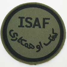 International Security Assistance Force (ISAF) Patch Velcro and Stitch-on