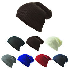 New Gifts Unisex Women Mens Knitted Knit Winter Warm Ski Slouch Hats Cap Beanie