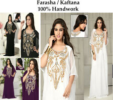 New Dubai Style kaftan farasha Jalabiya maxi dress abaya For EID SPECIAL -18