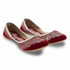 Womens Traditional Ethnic Shoes Bellerina Flats Punjabi Juti Rjasthani Jutti