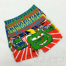 Hot! Cars McQueen cotton underwear children cartoon boys underwear wholesale