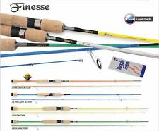 Serie Canne Pesca Trout Area Game Tubertini Finesse Carbonio Anelli Fuji  FEU