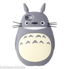 Silicone 3D Totoro Studio Ghibli Anime  Mobile iPhone Phone Cover Case Protector