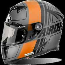 CASCO HELMET INTEGRALE AIROH 2017 GP500 GRAFICHE SCRAPE ORANGE MATT MOTO OPACO