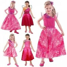 Barbie Fancy Dress Girls Costume Childrens Outfit Kids Book Week Halloween Party