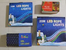10M/20M/84L/320L Waterproof Led Rope Light Party Home Christmas